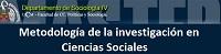 Master en Metodología de Investigación y Ciencias Sociales